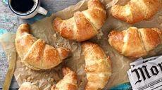Croissanty s pudinkem