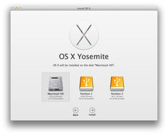 How to install Yosemite for Mac properly