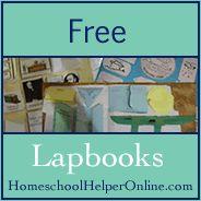 Free Lapbooks at Homeschool Helper Online