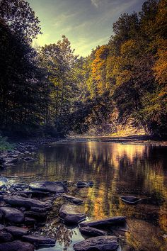 Six Mile Creek, Ithaca, New York; photo by Adam Baker