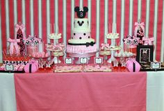 Minnie Mouse Birthday Party Ideas | Photo 3 of 37 | Catch My Party