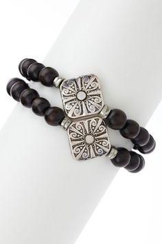 Tibetan bracelet. I have these exact silver beads.