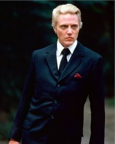 Christopher Walken as Max Zorin in A View to a Kill (John Glen, 1985).