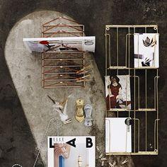 Kartenhalter Kupfer von Madam Stoltz - weloveyoulove - 2
