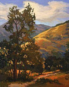 Somewhere North Of Fallbrook by Jan Schmuckal Oil ~ 20 x 16