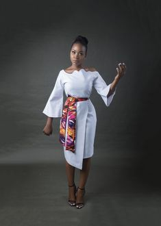 Shes Deluxe Has An Ultra Feminine Collection All Ladies Will Love! Ankara Dress Styles, Latest African Fashion Dresses, African Dresses For Women, African Attire, African Print Skirt, African Print Dresses, African Print Fashion, Classy Dress, Classy Outfits