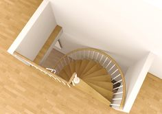 Marvelous Space Saving Spiral Staircase Type Toscana L Stairs The View From The…