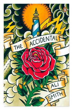 "#bellecopertine Penguin Inks: ""The Accidental"" by Ali Smith. Artwork by Judd Ripley"