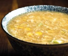 CHINESE CHICKEN AND CORN SOUP: Take a look at this recipe for a delicious Chinese Chicken and Corn Soup.