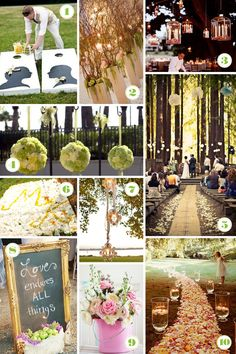 best wedding themes | 10 Best Finds of the week: Outdoor Wedding Decor | Abbey Malcolm