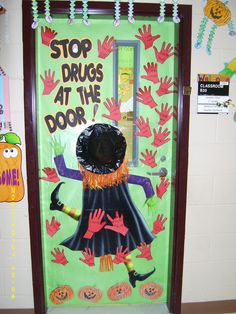 My assistant and I created a door for Red Ribbon Week.  We won a pizza party for having the best door!!!