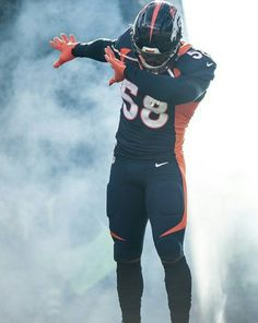 Von Miller! Got the last Dab in 2016. Cam still a beast though!