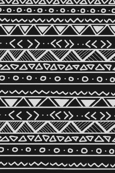 aztec wallpaper black and white - Google Search