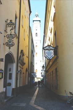 Alley in Munich Visit Munich, Black Hoodie, Cosmos, Canada, Universe, The Universe, Space, Outer Space