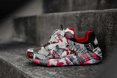 "Trapstar x Puma Disc Blaze ""Barb Cherry Camo"" - EU Kicks: Sneaker Magazine"