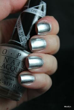OPI Push and Shove / Mirror Nails
