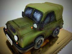 Russian UAZ Cake / Tort auto terenowe UAZ  - Cake by Edyta rogwojskiego.pl