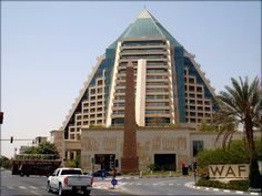 Raffles Dubai in Wafi City in Dubai  ....{by Bassam}