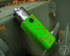 Vape Setup Of The Day! ATTY: 40mm Mason RDA MOD: Hammer Of God V3 You've gotta love that zombie green finish on the Hammer Of God V3 by Vaperz Cloud. The HOG V3 is known for it's mix of extra power and battery life by accepting 4 18650 batteries wired in series/parallel. It's also one of a small handful of mods that can accommodate a 40mm atty like the Mason RDA by Vapergate, which we just recently restocked at EVCigarettes.com.