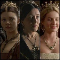 Tres primeras esposas de Enrique VIII