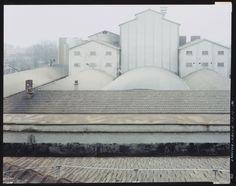 Artwork Untitled by Guido Guidi Michelangelo Antonioni, Reggio Emilia, Photo L, Still Image, Building, Artwork, Vintage, City Photography, Urban