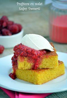 Buttermilk and Corn Cake Corn Cakes, Mango, Cheesecake, Sweets, Desserts, Dessert Ideas, Food, Sweet, Manga