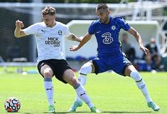 Hakim Ziyech scores hat-trick as European champions Chelsea smash Peterborough for six in pre-season friendly, with Ross Barkley also starring, as outcast Danny Drinkwater plays for the Blues for the first time in 1,077 days! Chelsea Match, Chelsea Fc, Football Gif, Watch Football, Tammy Abraham, Uefa Super Cup, Christian Pulisic