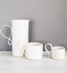 White light ceramics
