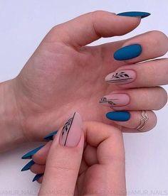 25 Elegant Nail Designs to Inspire Your Next Mani - Nägel - Nageldesign Cute Acrylic Nails, Acrylic Nail Designs, Cute Nails, Nail Art Designs, Nails Design, Gel Polish Designs, Elegant Nail Designs, Elegant Nails, Stylish Nails