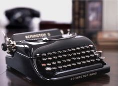 These Remington 5 typewriters are amongst the most beautiful.