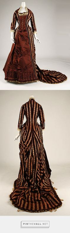 Afternoon dress 1878-80 French | The Metropolitan Museum of Art