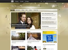 The Royal Wedding on the Behance Network