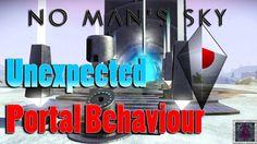 No Mans Sky - Unexpected Portal Behaviour No Man's Sky, Light Year, Portal, Behavior, Behance, Manners