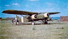 Bomber Caproni Ca.133 apparently already in transport version