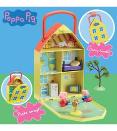 Image for Peppa Pig House and Garden Playset from studio