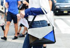 She Wears Celine: Celine Diamond bag