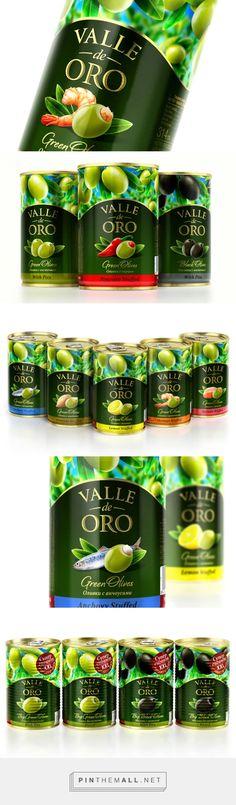 Valle de oro by Akim Melnik Design Studio - http://www.packagingoftheworld.com/2015/03/valle-de-oro.html