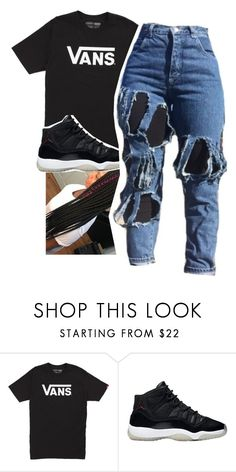 """""""Untitled #764"""" by tanaisha ❤ liked on Polyvore featuring Vans"""