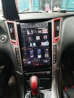 Infiniti Q50 Interior, Infiniti Q50 Red Sport, Cool Truck Accessories, Android Radio, Vanz, Car Mods, Digital Tv, Backup Camera, Dashcam
