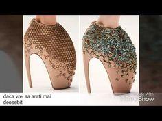 pantofi de vara crosetati - YouTube