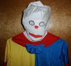 Creepy Clown Costume Adult Halloween Cosplay FULL BODY SUIT FULL COVERAGE! #RubiesCostumeCoInc