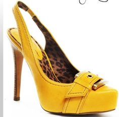 Fabulous yellow shoes in celebration of National Mustard Day450 x 443 | 45.1 KB | poshposh.com