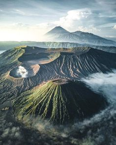 Volcanos in Indonesia