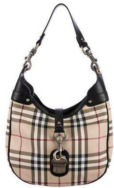3753562c25 Burberry Nova Check Hobo Buy Handbags Online, Cute Bags, Antique Gold, Nova,