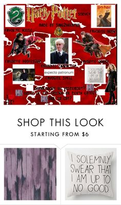 """""""harry potter survey"""" by bamalife on Polyvore featuring Designers Guild"""