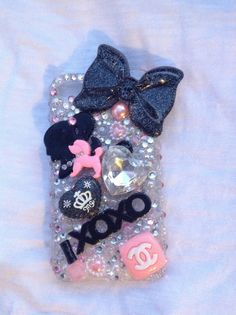 Blinged out iPhone Case by TheGlitzyGal on Etsy, $30.00