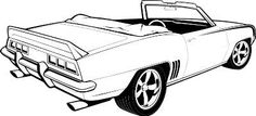Muscle Cars | Motorsport - Muscle Cars Clip Art
