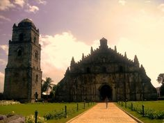 Paoay Church, Ilocos Sur Ilocos, Old Churches, Philippines, Prayer, Spanish, Louvre, Building, Mosques, Cathedrals