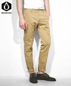 """Pantalón modelo Sta-prest o pantalón """"chino."""""""