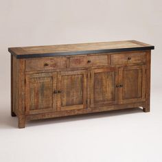 One of my favorite discoveries at WorldMarket.com: Clayton Rustic Sideboard $799.99